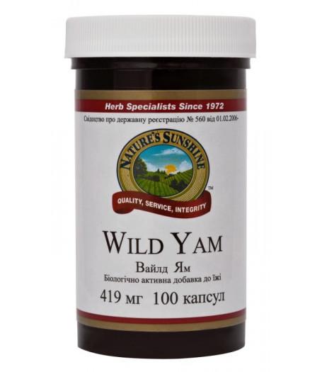 Дикий Ямс - Wild Yam - Фитопрогестероны