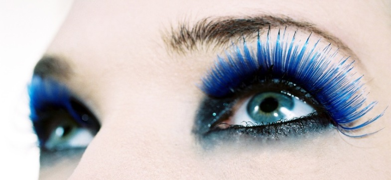 Тушь Ирис это невероятно яркий, глубокий и красивый оттенок синего цвета!