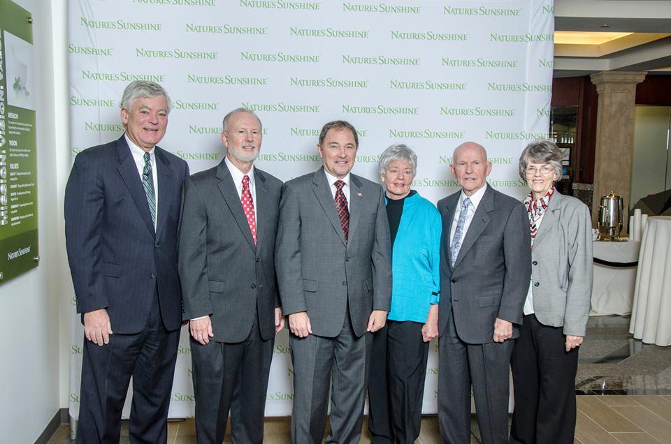 На открытии присутствовали основатели компании, Губернатор штата Юта и другие почетные гости.