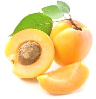 В абрикосах содержится витамин P