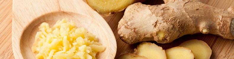 Имбирь благотворно влияет на пищеварение